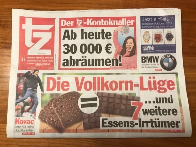 TZ - Die Vollkorn-Lüge (8. April 2019)